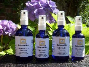 NATURAL SKIN MAGIC  SprayMist 100ml. Miraculous Natural Organic Skin Spray for ALL SEASONS + all Occasions - All Skins